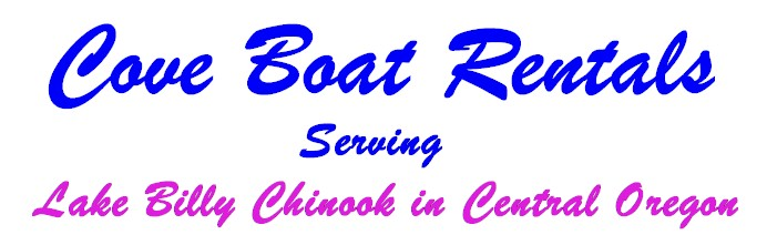 Cove Boat Rentals serving Lake Billy Chinook in central OR
