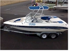 Rental Ski Boat on trailer